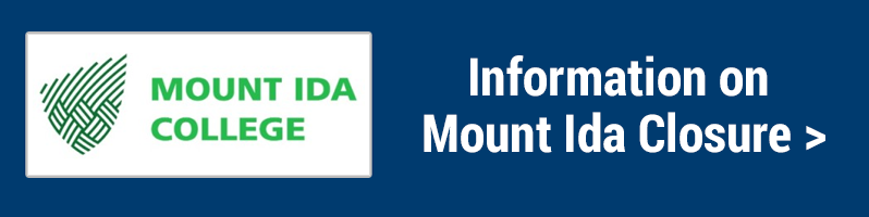 Mount Ida College: Information on Mount Ida Closure