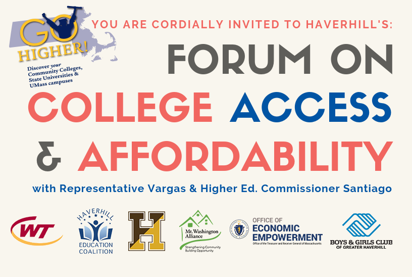 State Rep. Vargas and the DHE invite you to Go Higher on Sept. 27, 2018