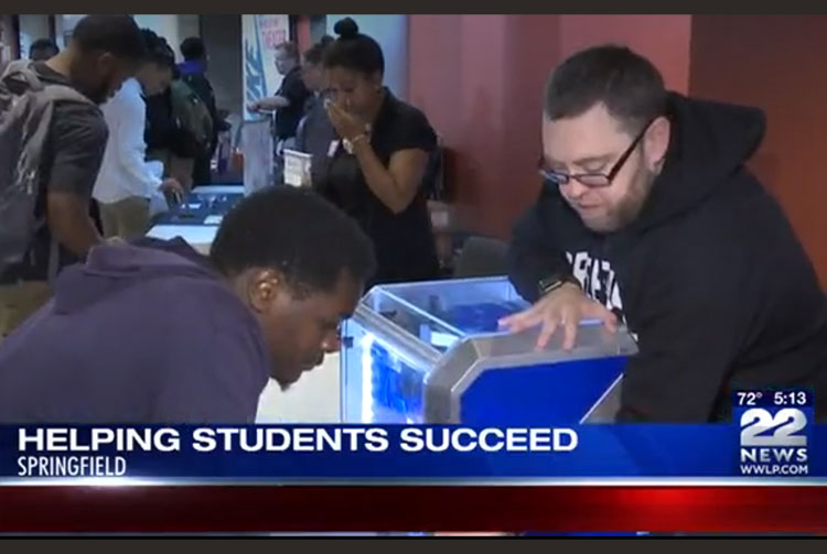 WWLP 22News Coverage of Go Higher! Event in Springfield