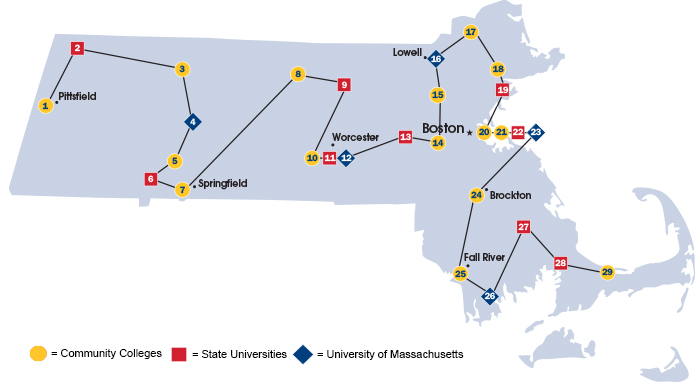Bunker Hill Community College Campus Map.Go Higher Discover Your Community Colleges State Universities And