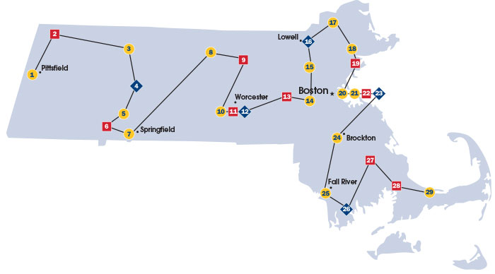 Colleges In Massachusetts Map Go Higher! Discover your community colleges, state universities