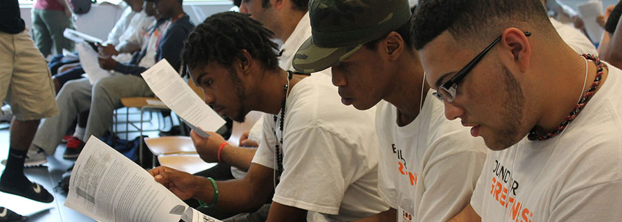 100 Males to College / Strategic Initiatives / Massachusetts